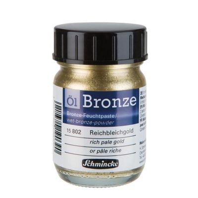 Bronze Schmincke 50 ml 802 rich pale gold