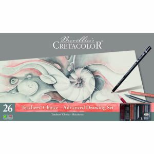 Komplet Teacher\'s Choice 26 elementów Cretacolor
