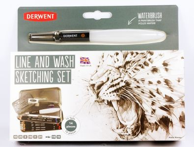 Zestaw szkicowy Line and wash sketching set Derwent