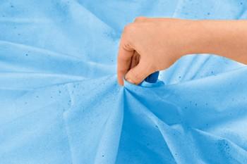 skręcanie tkaniny do pomalowania farbą